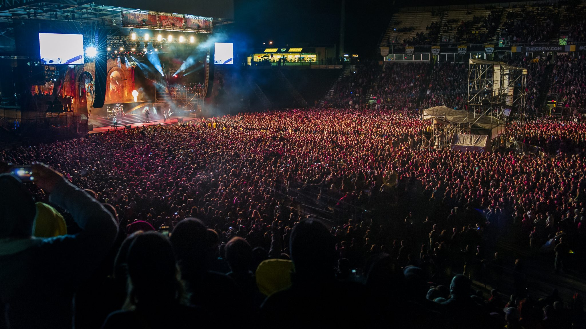 Sold Out Crowd during Avenged Sevenfold at Rock on the Range 2014.